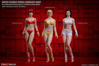1/12 Scale - Pale Female Set - Female Seamless Body w/Metal Skeleton