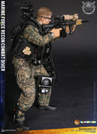 Marine Force Recon Combat Diver Woodland Marpat MINT IN BOX