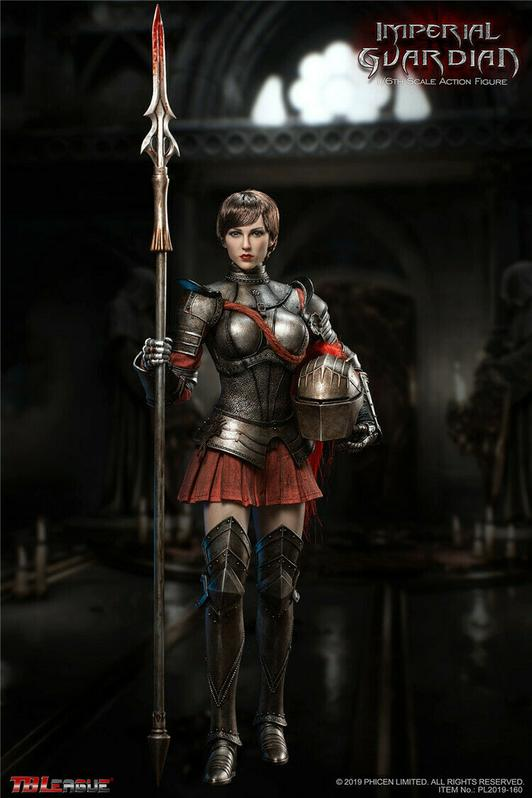 Imperial Guardian - Female Shoulder Armor