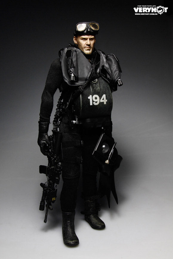 Navy Seal HALO UDT Jumper - Diving Gear Set