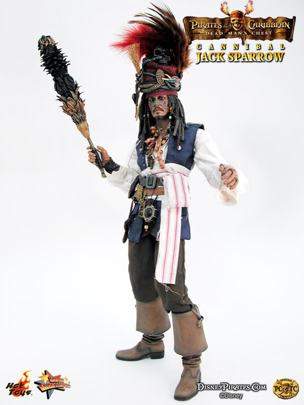 POTC DMC Jack Sparrow - Feather Stick