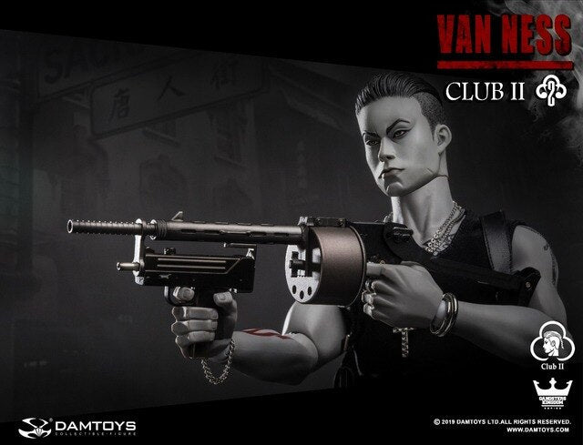 Club 2 - Van Ness SLE - Grey Male Base Body w/w/Head Sculpt