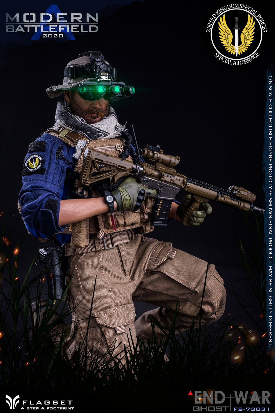 Modern Battlefield - Gloved Hand Set
