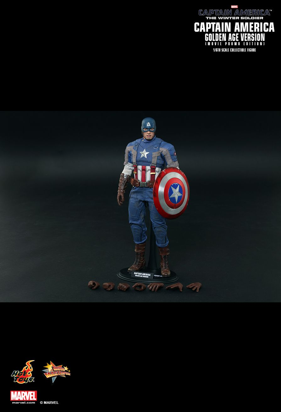 The Winter Soldier - Captain America - Long Foot Pegs