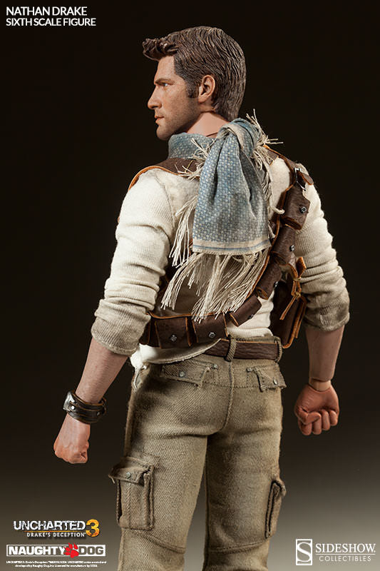 Uncharted 3 Nathan Drake White Socks For Peg Type Boots