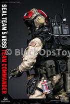Navy Seal Team 5 VBSS Team Commander Custom Flight Deck Helmet w/Radio Headset