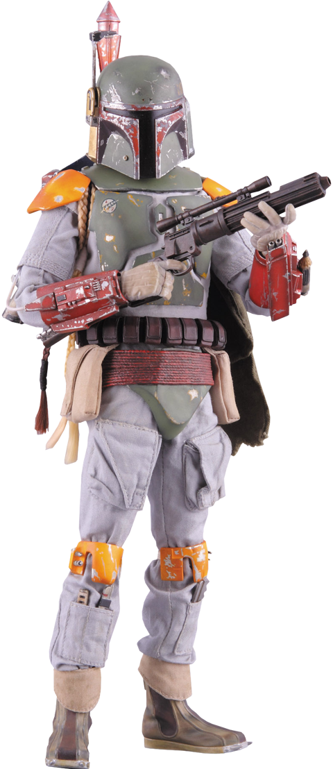 ROTJ Boba  Fett - Green & Tan Boots (Foot Type)