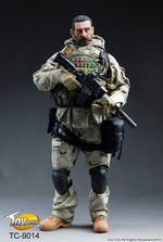 British Special Forces Group SAS - Tan & Green Gloved Hand Set