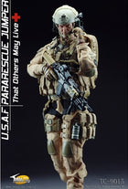 USAF Pararescue Jumper - Black Rappelling Harness