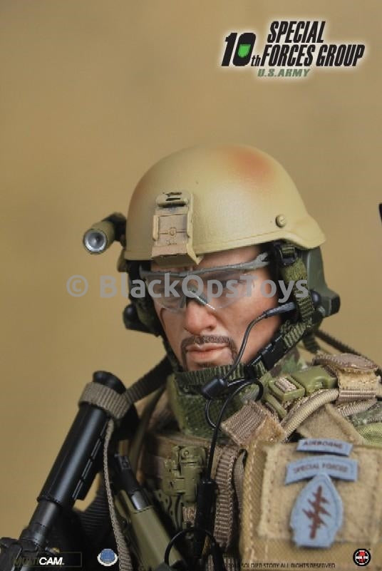 US Army 10th SFG Special Forces Group Shooting Glasses