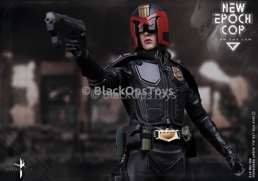 Virtual Toys Epoch Female Cop Anderson Judge Dredd Mint In Box