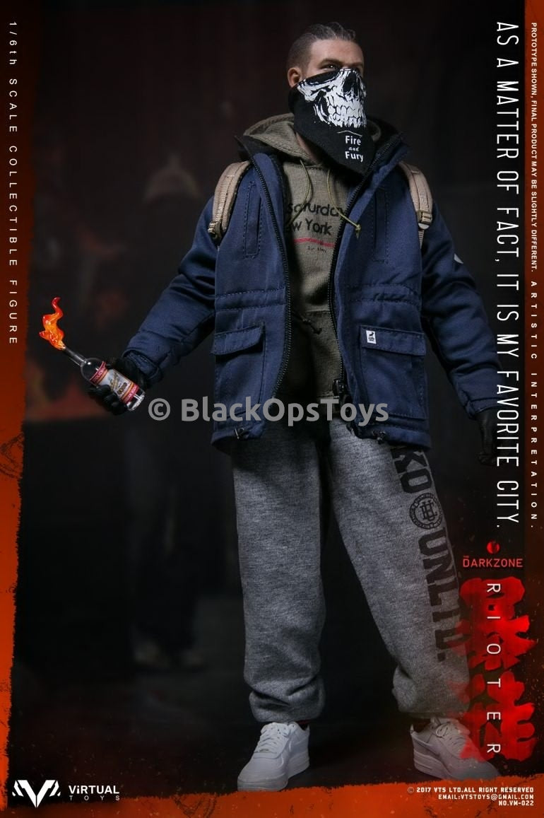 Virtual Toys The Dark Zone Rioter Grey Sweat Pants loose 1//6th scale