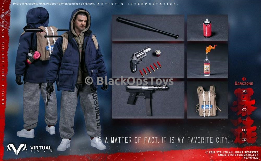VTS Toys The Division Darkzone Bad Guy The Rioter White Nike Air Force 1 AF1 Sneakers Peg Type