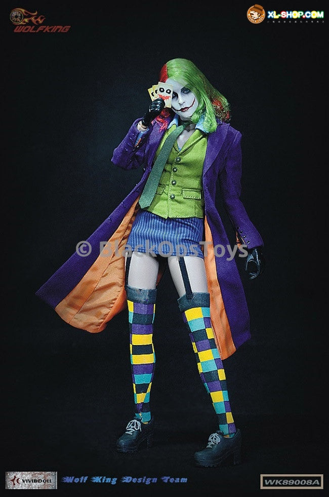 Wolfking Batman Female Joker Cards x10