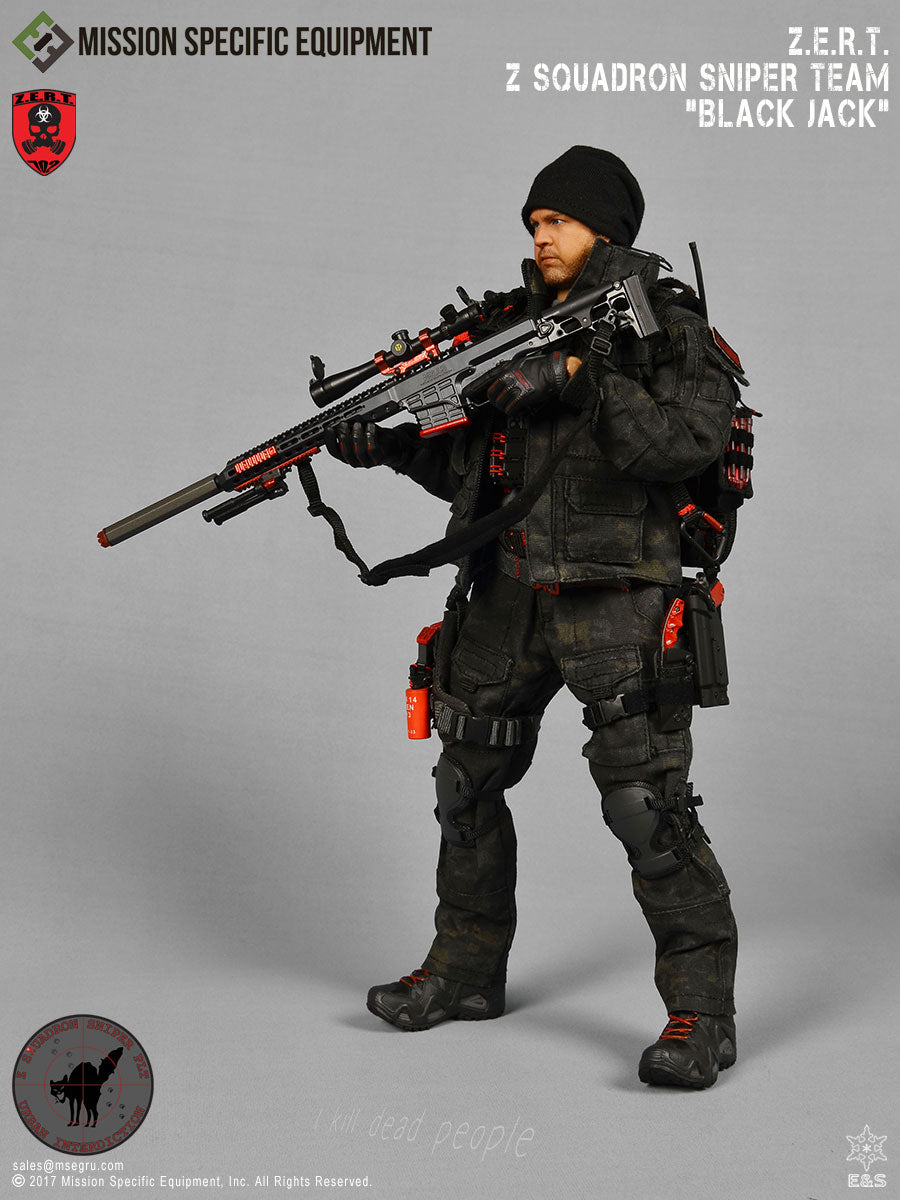 September 2020 Raffle - Win this ZERT Sniper Action Figure