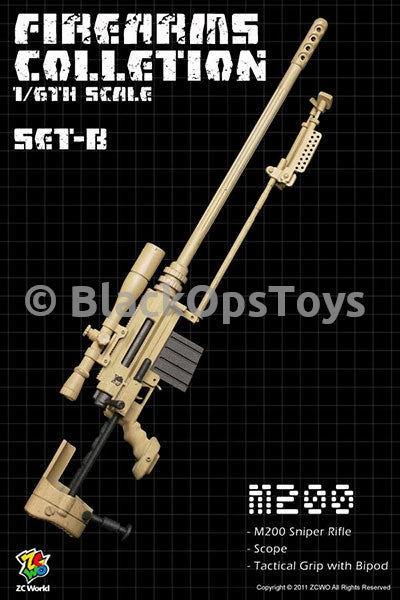 "Firearms Collection Set-B ""M200"" Sniper Rifle"