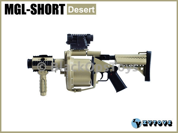 Multiple Grenade Launcher MGL-Short (Desert) MINT IN BOX