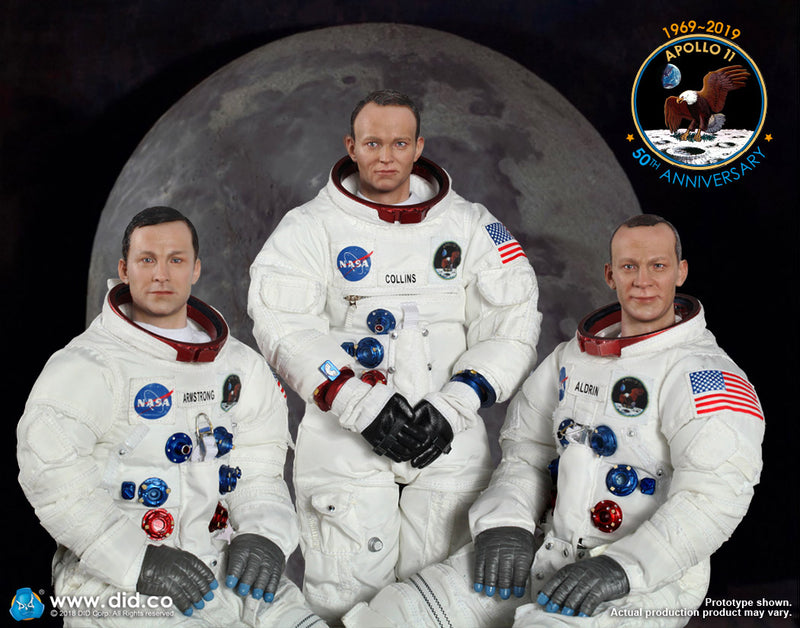 Apollo 11 Astronauts - Buzz Aldrin Male Body w/Head Sculpt