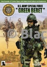 Green Beret - Woodland Butt Pack