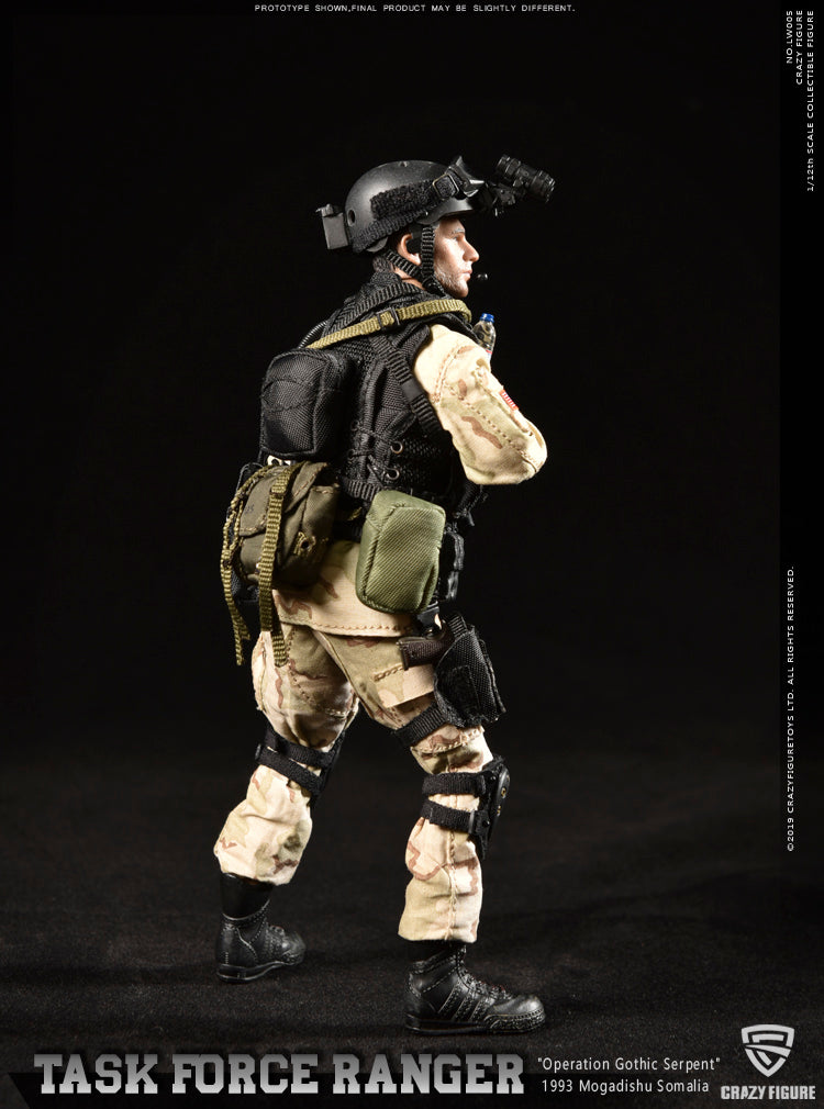 PREORDER - 1/12 scale - Master Sergeant - Rangers Task Force - MINT IN BOX