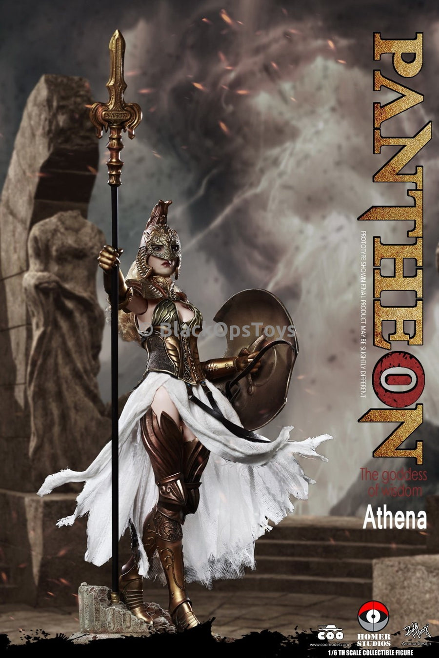 PREORDER Pantheon Goddess of Wisdom Athena MINT IN BOX