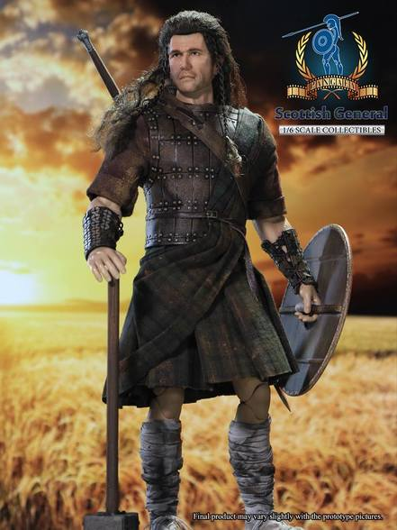 Scottish General - Brown Leather-Like Brigandine