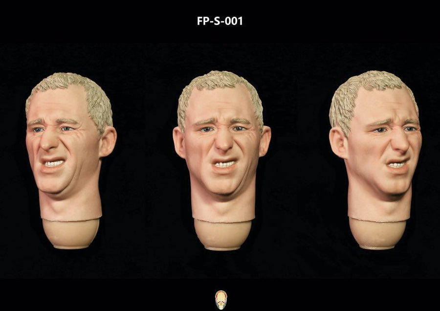 MINT IN BOX - Male Head Sculpt w/Expression Version 2