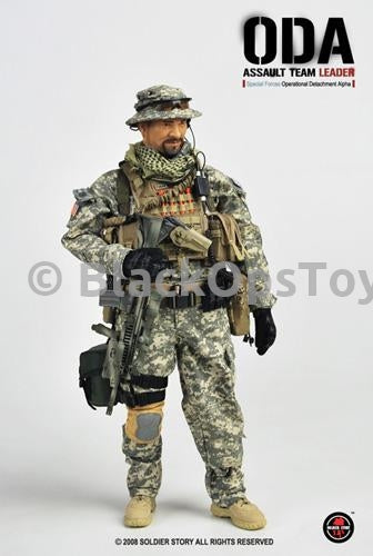 ODA Assault Team Leader Special Forces Pistol & Holster Set