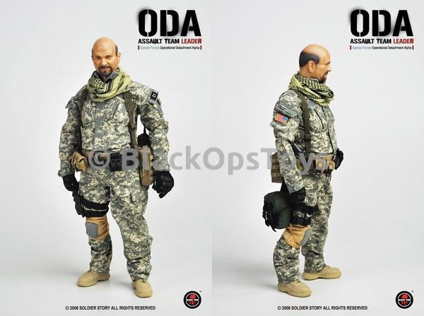 ODA Assault Team Leader Special Forces Uniform Patches