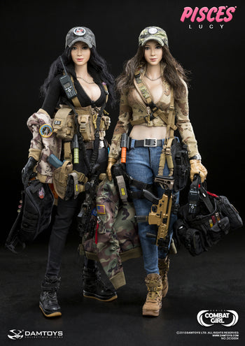 Combat Girl Series Pisces - Combo NANA & LUCY - MINT IN BOX