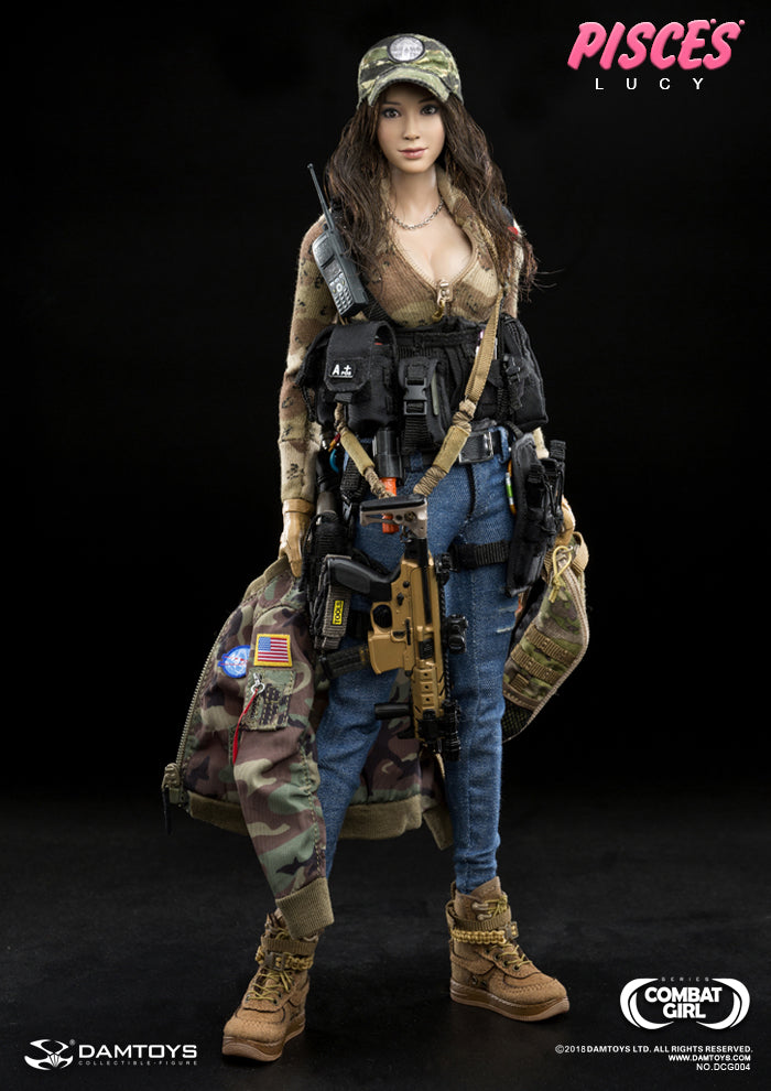 PREORDER Combat Girl Series PISCES Lucy MINT IN BOX