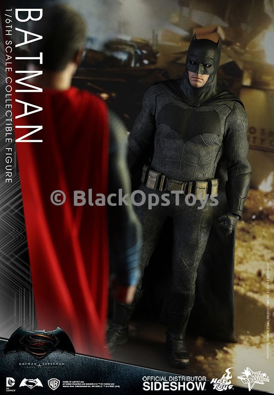 Batman v Superman Dawn of Justice MMS342E Sniper Rifle & Tech Cowl Version Sideshow Exclusive
