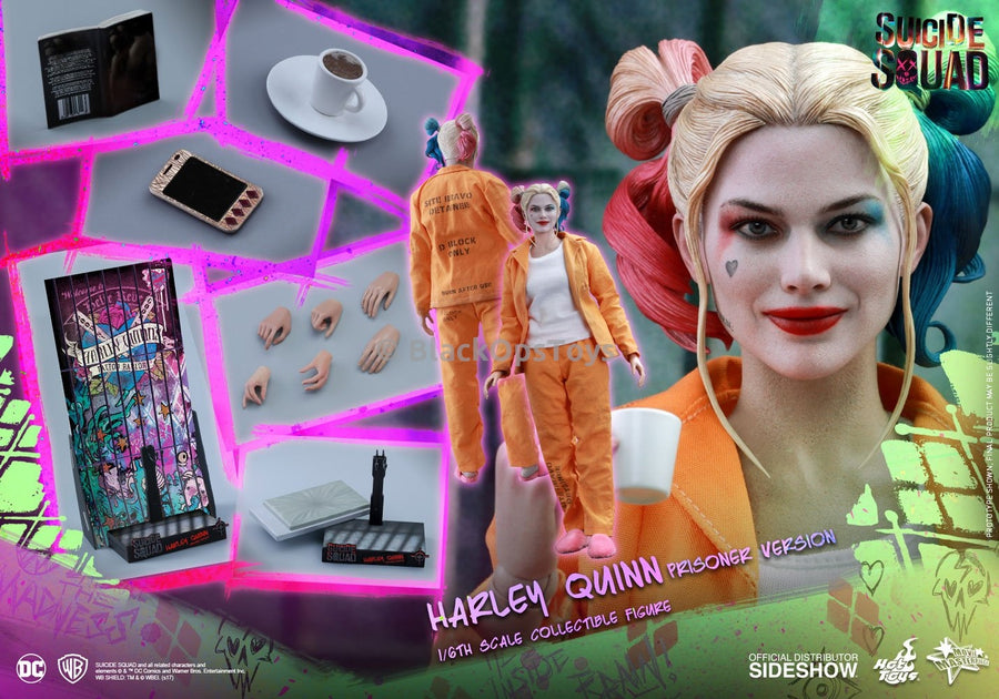 Hot Toys Harley Quinn Prison Version Figure Stand