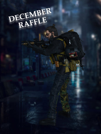 December 2020 Raffle - Win this Easy & Simple SAD Low Profile Casual Version Action Figure