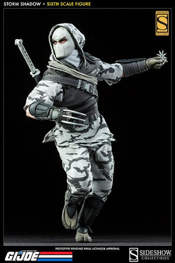 GI Joe - Cobra Storm Shadow - Exclusive Version - MINT IN BOX