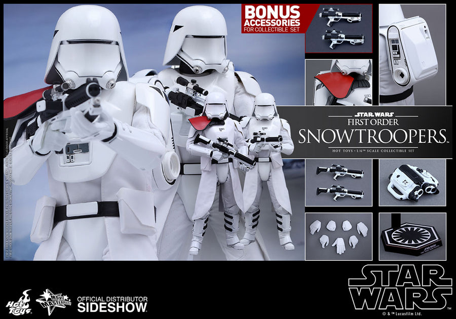 STAR WARS - Snowtrooper - Blaster Rifle w/Extendable Stock