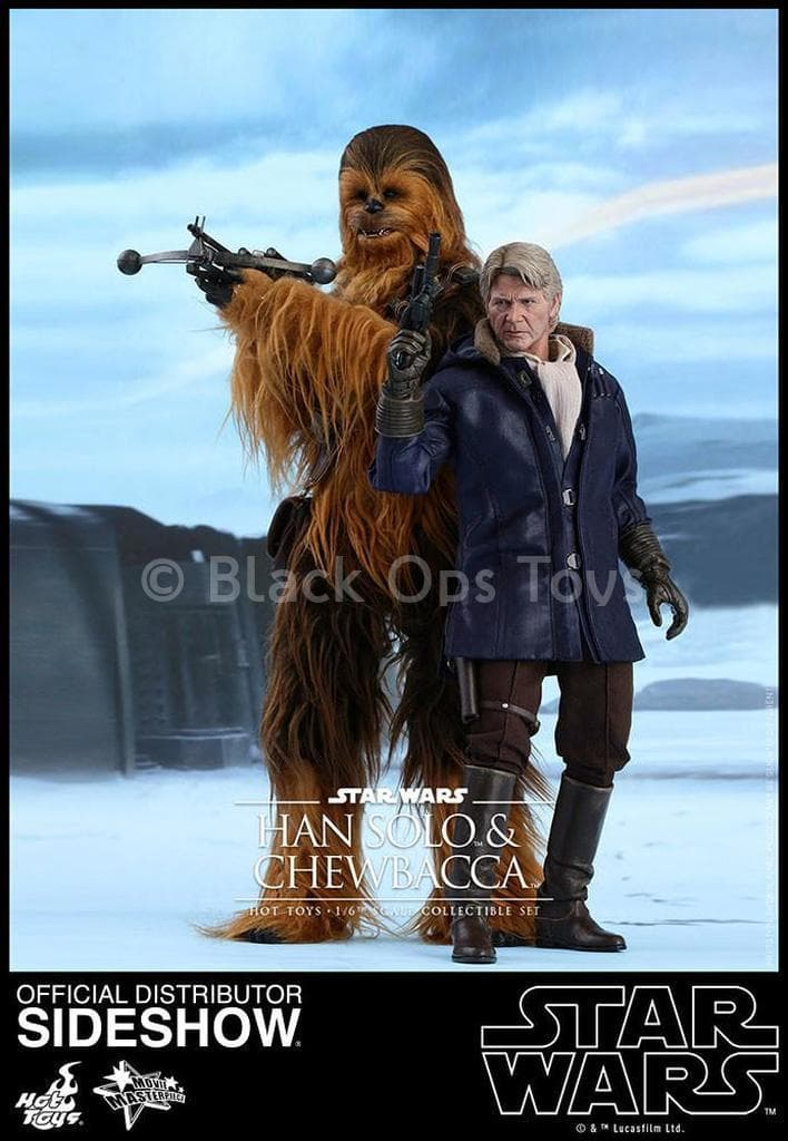 Star Wars The Force Awakens - Han & Chewbacca Combo  - MINT IN BOX