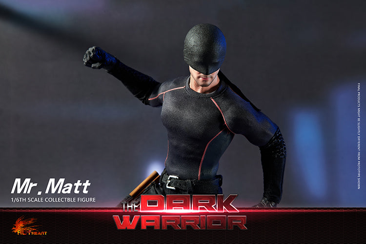 "PREORDER - The Dark Warrior ""Mr. Matt"" - MINT IN BOX"