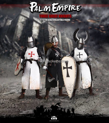 Hospitaller Templar & Teutonic Knights 3 In 1 - Mint In Box Mint In Box