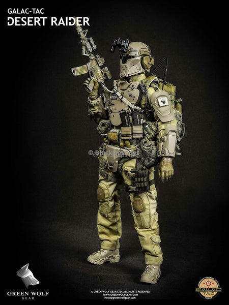 Green Wolf Gear GALAC-TAC Desert Raider Figure Mint in Box