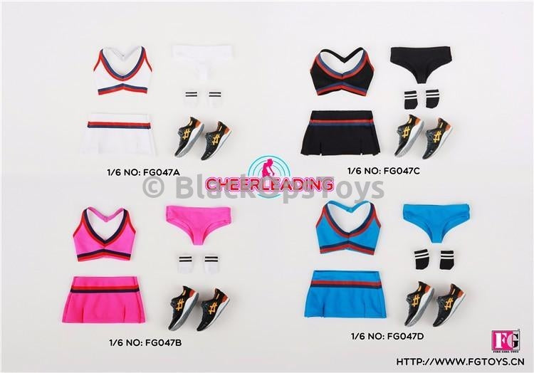 Cheerleading White Outfit Set A