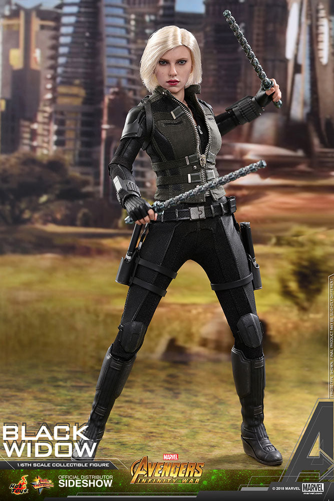 Avengers Infinity War - Black Widow - Separated Batons
