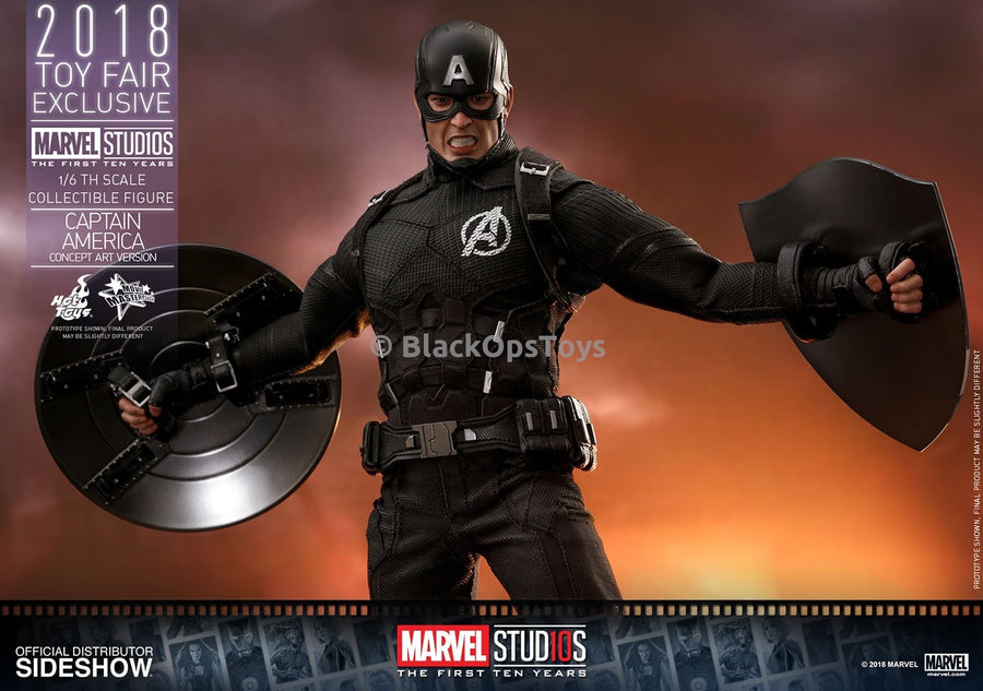 CAPTAIN AMERICA - Hand Set (Right Handed Shield Grip)