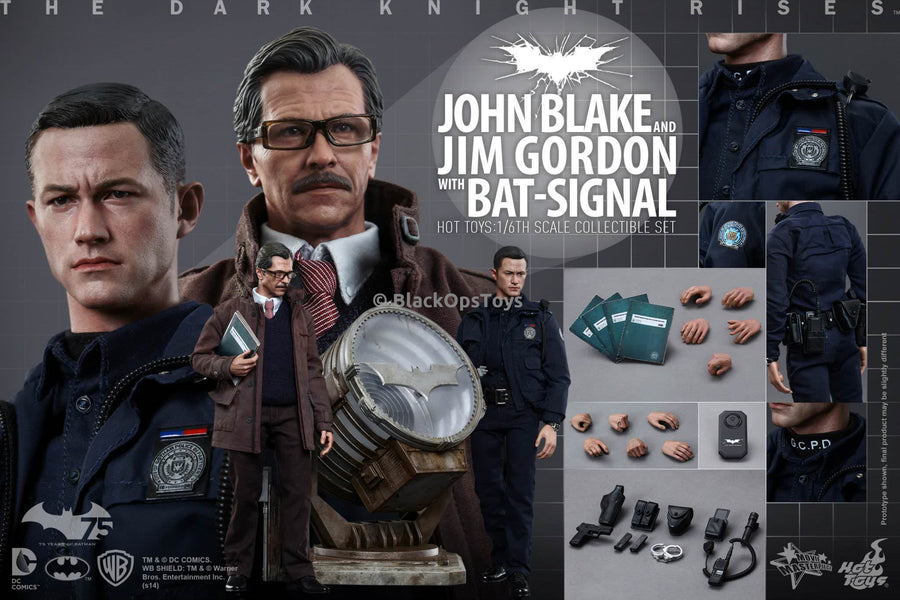Jim Gordon Dark Knight Rises GCPD Batman File