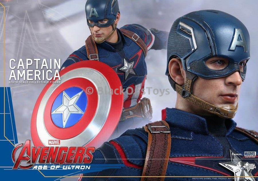 Age of Ultron - Captain America - Chris Evans Like-ness Male Head Sculpt