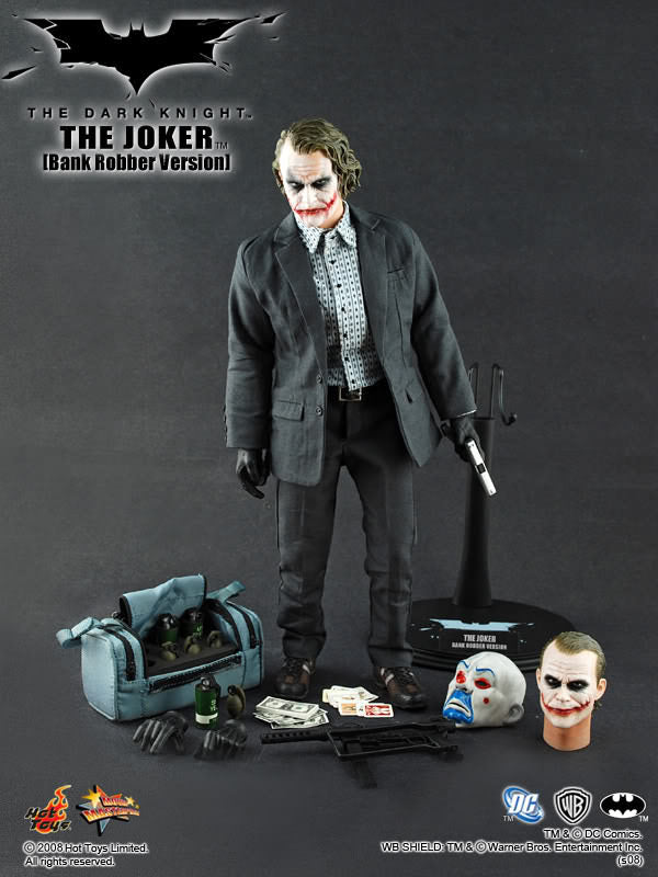 The Dark Knight - Joker - Black Gloved Hand Set Type 1