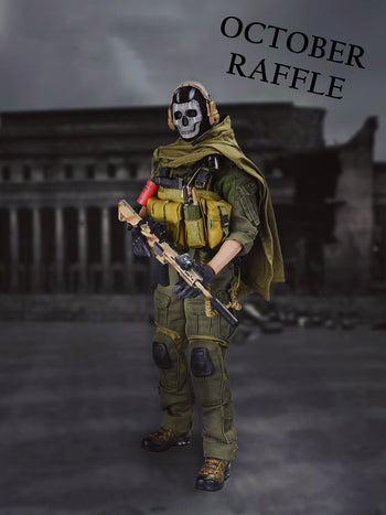 October 2020 Raffle - Win this General's Armoury Phantom Action Figure