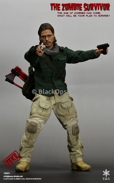 Easy & Simple 1/6 Scale Zombie Survivor MINT IN BOX