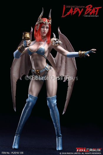 Angelic Female Lady Bat 2018 SHCC Exclusive MINT IN BOX