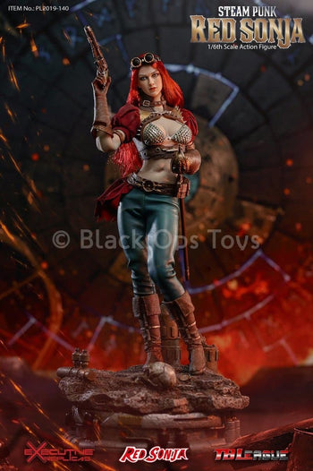PREORDER - Steampunk Red Sonja - Deluxe Version - MINT IN BOX